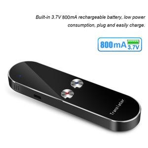 Image 5 - Smart Portable Instant Voice Translator Support 68 Countries Language Three way Translation Multi Language Translator Voice
