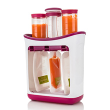 Homemade Fresh Fruit Juice Squeeze Station Infant Baby Food Maker with Storage Bags