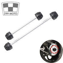 ForHONDA VTR 1000 RC51 2000 2005 Motorcycle Rear Axle Front Fork Accident Sliders Protector Falling Protection accident