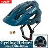 Batfox capacete de bicicleta preto fosco, capacete de ciclismo mtb mountain bike, tampa interna, capacete da bicicleta 25