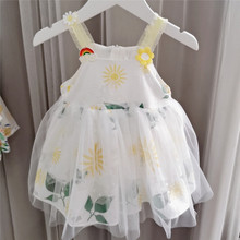 wholesale baby dress summer fruit pattern cute toddler infan