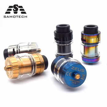 цена на Zeus x RTA 26mm Diameter Rebuildable 510 thread 4ml RTA Zess Atomizer Leak Proof Top Airflow System vs QN Fatality M25