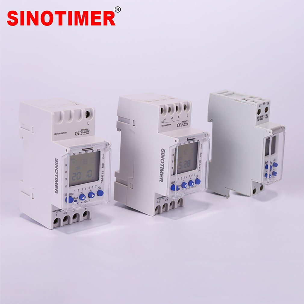 Interruptor 24h do temporizador de sinotimer tm612