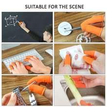 100 шт латексные накладки на пальцы для ногтей