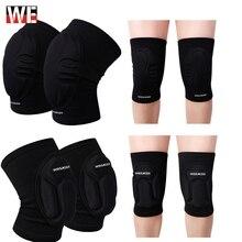 WOSAWE EVA Elastic wearable knee Support Brace Motorcycle Knee Protector Pad Dancing Cycling Skating Sports kneepad Guards