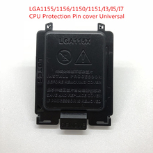100P Motherboard CPU Socket Protection Shell Black Cover for LGA1155/1156/1150/1151/I3/I5/I7 Universal CPU Protection pin cover