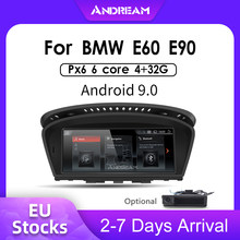 "8.8 ""Android 9.0 PX6 4G + 32G IPS screen Car Multimedia IPS per BMW Series5 3 E90 e91 E92 E60 E61 E62 gps unità di Testa di navigazione(China)"