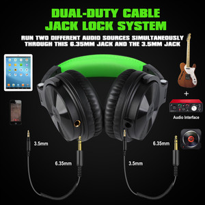 Image 2 - Oneodio Wired Stereo Gaming Headphones Call Center Office Headset With Noise Cancelling Microphone Studio DJ Headphone Green