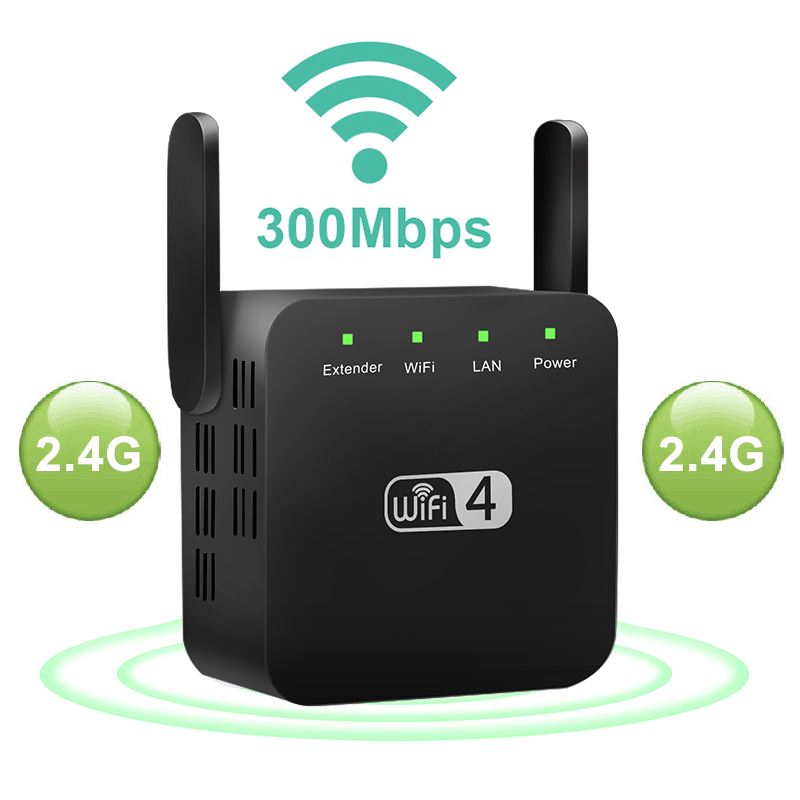 Draadloze Wifi Repeater Wifi Booster 300Mbps Wifi Versterker 802.11AC Wi-fi Extender Wi-Filong Bereik Repiter Access Point title=