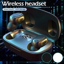 TWS Bluetooth 5,0 наушники Willkey T10S, беспроводные наушники, сенсорное управление, стерео, бас, гарнитура с цифровым дисплеем питания