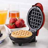 Mini Waffle Maker Machine Classic Breakfast Individual Round Kitchen Nonstick High Quality and Brand New