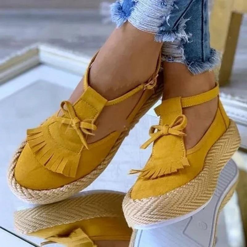 Fashion Tassel Women Sandals Summer Flat Shoes PU Leather Gladiator Luxury Shoes Women Designers Zapatos De Mujer Fringe 2020|Women's Vulcanize Shoes| - AliExpress