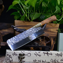 Chef-Knife Cuisine-Tools Meat-Cleaver Forged Dragon Cooking Handmade Kitchen Chinese