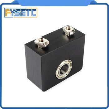 Impressora 3d peças de alumínio z-eixo leadscrew montagem superior para tornado creality CR-10 ender 3 ender pro metal z-haste suporte de rolamento