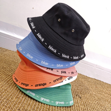 Letters Embroidery Spring Summer Hats High Quality Fisherman's Hat Women Men Fisherman Outdoor Sunshade Cap Fishing