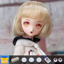 SQ Lab Ren Chibi cartoon doll bjd 1/6 movable joint fullset complete professional makeup