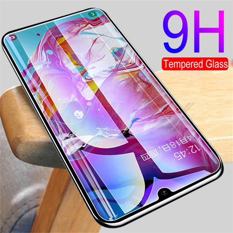 9H Protective Glass On For Samsung Galaxy A10 A20 A20E A20S A30 A30S A40 A40S A50 A50S A60 A70 A80 A90 Tempered Screen Protector