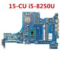 For HP 15-CU 15-CU0001TX Laptop Motherboard L22875-601 L22875-001 DAG7CMB16E0 i5-8250U DSC 530 1