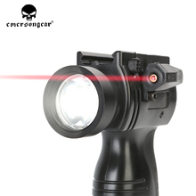 emersongear Night Vision Laser Red Dot Sight Flashligh  STL-300J Weapon Light Black Pistol Lanterna Airsoft Tactical Rifl Scope
