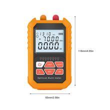 Medidor de potência óptica 4 em 1, localizador visual de falhas 5km, caneta laser vermelha, iluminação led, fibra de rede opm ferramentas de testador de cabo óptico