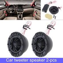 2 pces 150w YH-X6 preto de alta eficiência freqüência dividindo capacitor 29mm mylar meia-cúpula tweeter alto falantes fornecer sistema de áudio do carro