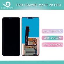 עבור Huawei mate 20 פרו LCD AMOLED תצוגת LCD מסך + מגע פנל Digitizer עצרת עבור Huawei תצוגה מקורי