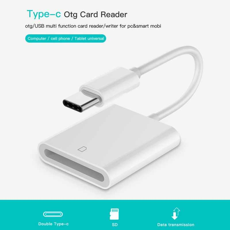 Универсальный USB SD кард-ридер 3,1 type C USB-C конвертеры для SD карт SDXC адаптер для Macbook samsung huawei xiaomi