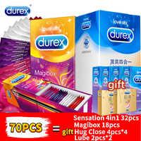 Durex Kondom Männer Penis Hahn-hülse Ultra Dünne Liebe XXL Magibox Kondome Erstaunlichen Wert Natürliche Latex Extra Geschmiert Kondom