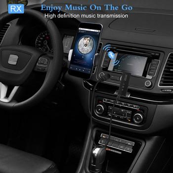 VIKEFON Bluetooth 5 0 nadajnik i odbiornik do telewizora PC słuchawki samochodowe RCA 3 5mm Aux Jack muzyka Stereo Audio Adapter bezprzewodowy tanie i dobre opinie CN (pochodzenie) Brak Podwójne ZF-360 Bluetooth 5 0 Receiver Transmitter Bluetooth Transmitter For TV Bluetooth Car Kit Music Adapter
