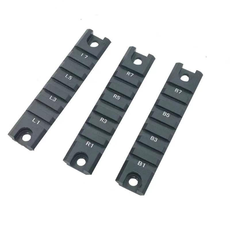 Tactical 7 Slot 3pcs RIS RAS 20mm Weaver Picatinny <font><b>Rail</b></font> Set for <font><b>G36</b></font> G36C Bolt-on Military Gear Equipment Hunting Accessories image
