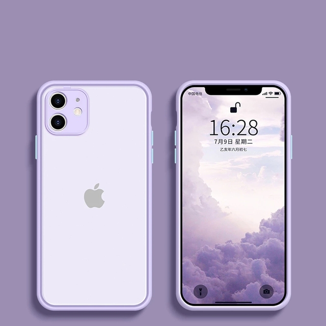 Camera Protector For Apple iPhone 11 Case For iPhone 12 Mini 12 Pro Max Case 7 8 6 6S Plus XR X XS MAX SE 2020 Case Cover Bumper 2