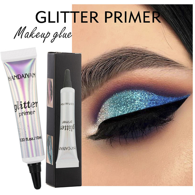 HANDAIYAN Classic Lip Eye Glitter Primer Sequined Primer Makeup Cream Waterproof Sequin Glitter Eyeshadow Glue Korean Cosmetics