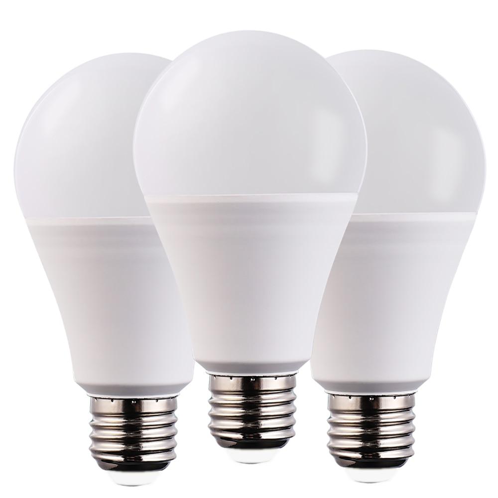 6PCS E27 E14 LED Bulb Lamps 3W 6W 9W 12W 15W 18W 20W Lampada LED Light Bulb AC 220V 230V 240V Bombilla Spotlight Cold/Warm White
