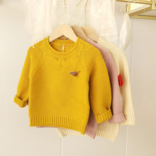 Kids' Sweater Childrenswear 2020 New Style Small CHILDREN'S Autumn Clothing Men and Women Children Cotton Knitwear Pullover Autu(China)