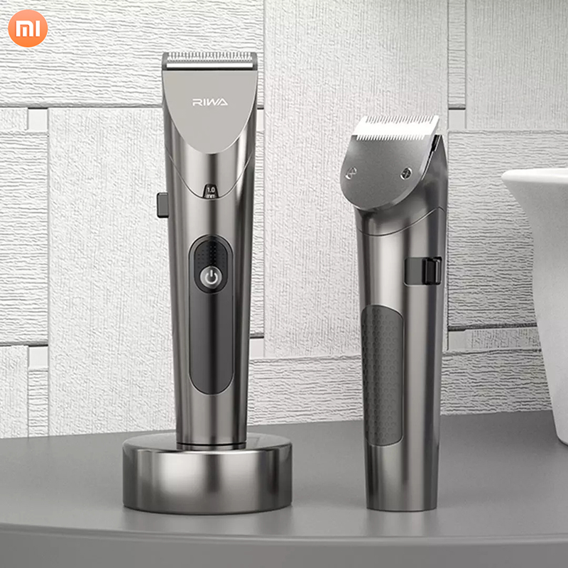 Xiaomi Rewa Electric Variable Speed Hair Clipper USB Charging With Low Noise Hair Trimmer 4 Steps Spacing Adjustment
