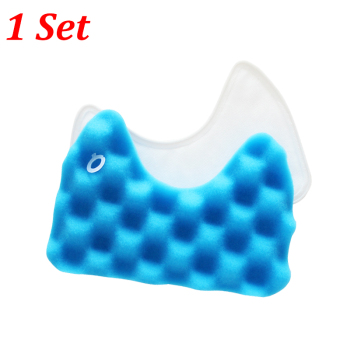 1 Set Blue Sponge HEPA Filter Replacement For Samsung DJ97-00492A SC6520/30/40/50/60/70/80/90 SC68 Vacuum Cleaner Accessories