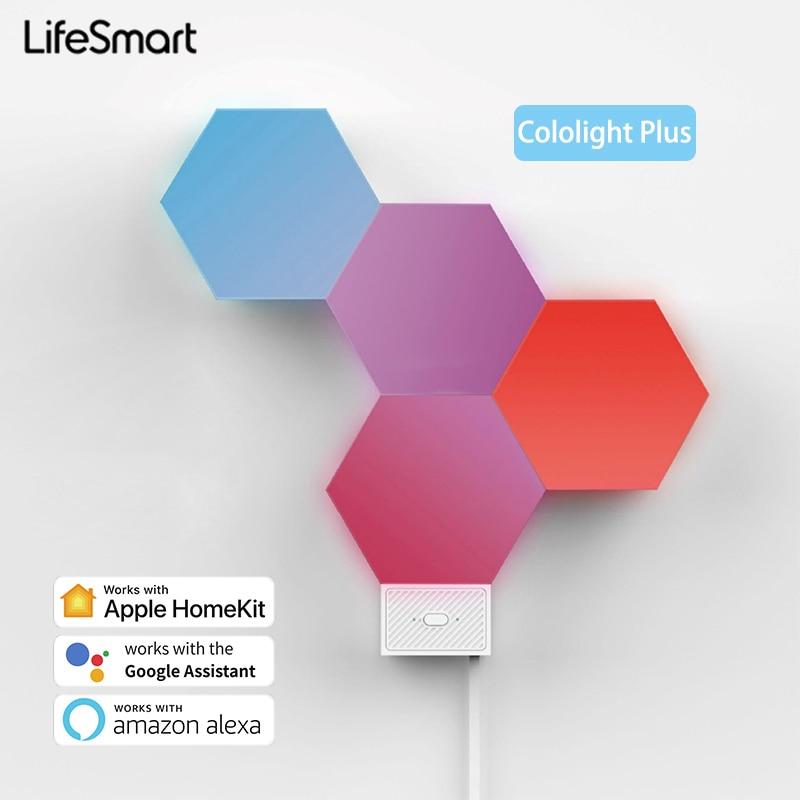 Светодиодный смарт-светильник LifeSmart, Квантовый светильник, 16 миллионов цветов RGB, работает с Apple HomeKit Google Alexa