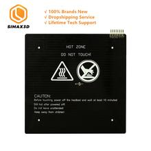 цена на SIMAX3D MK3 Heated Bed 12V 24V Black Parts Heatbed Hot HotBed Aluminum Plate 3d printer RepRap RAMPS PCB DIY KIT