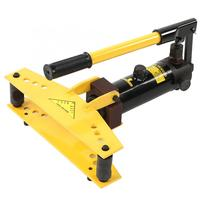 Pipe Bender Hand Tool Hydraulic Pipe and Tube Bender with 4 pcs Bending Formers for pipe plastic forming Hydraulic Pipe Bender