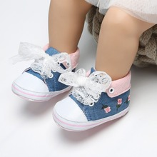 Newborn Infant Toddler First Walkers Baby Shoes Crib Bebe So