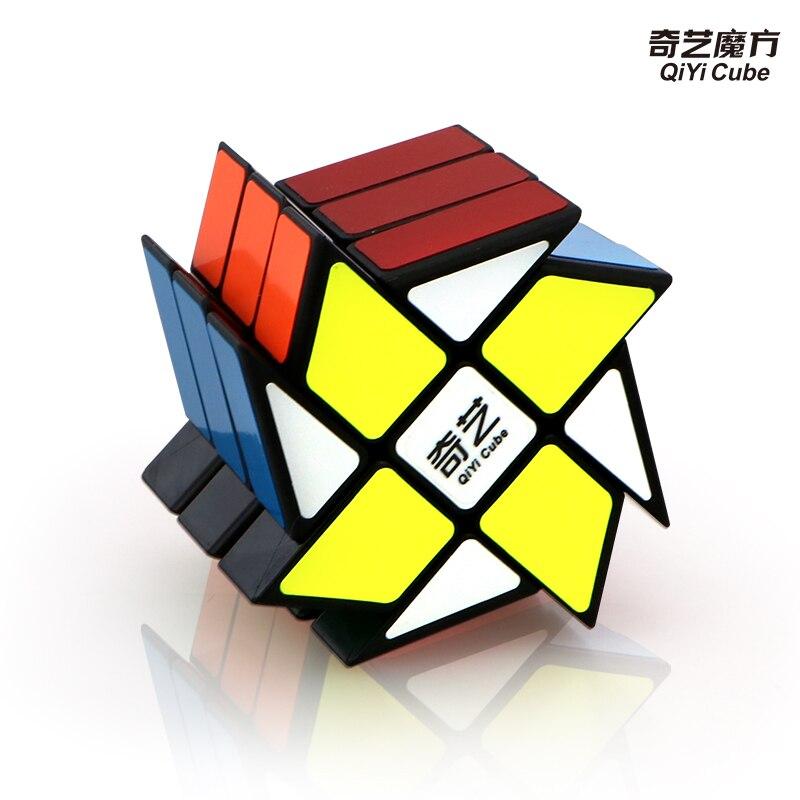 QiYi Windmill  3x3x3 Magic Cube Speed Twist  Magic Cube Puzzle Toy Antistress Rubis Neo Cubo Magico Children