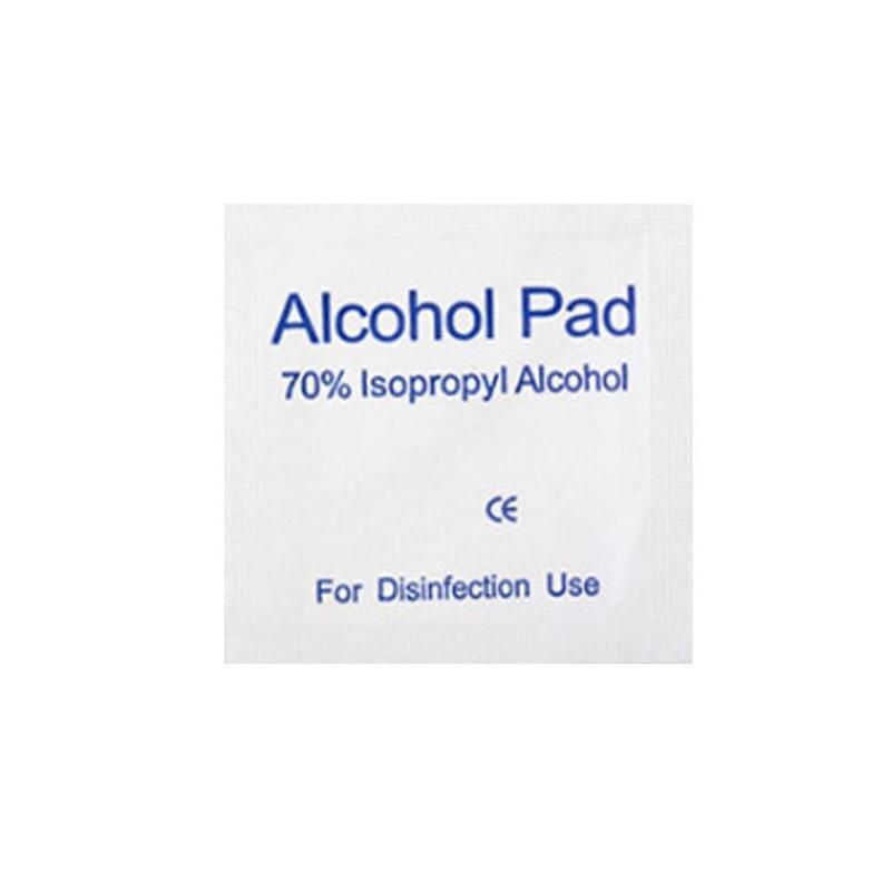 50pcs/set 70% Alcohol Pad Pet Wet Wipes Clean Disinfection For Pet Gentle Disinfection Towel Wet Wipes Tissue Pet Supplies
