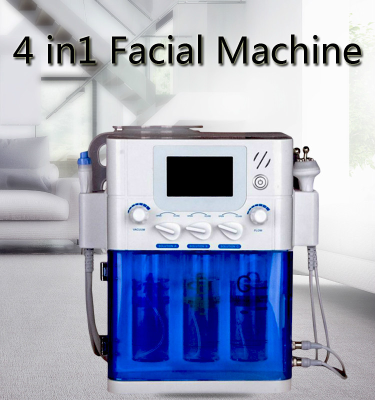 Hot Sale Vacuum Face Cleaning Hydro Water Oxygen Jet Peel Machine For Vacuum Pore Cleaner Facial Massage Machine