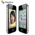 Оригинальный разблокированный телефон Apple iPhone 4  16 Гб ПЗУ  двухъядерный  3 5 дюймов  GSM WCDMA  3g  Wi-Fi  gps  5MP камера  использованный мобильный телефон ...