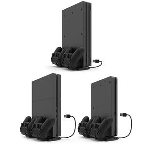 Image 4 - Vertical Cooling Stand Charging Station Dock w/HUB for PS4/PS4 Slim/PS4 Pro