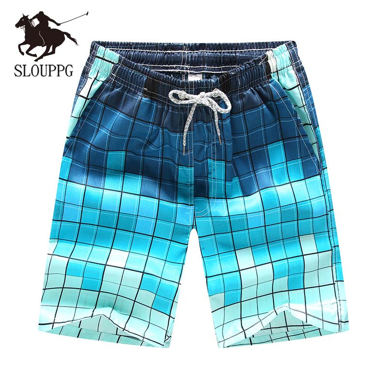 2019 New Couple Casual Beach Pants Swimming Trunks Large Size Men's Quick-drying European And American Trend Breathable Shorts