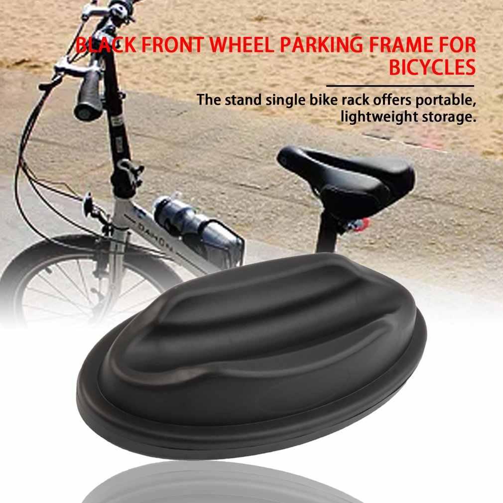 ABS Plastik Portable Sepeda Rak Ringan Tahan Air Sepeda Gunung Floor Stand Ban Pemegang Sepeda Parkir Berdiri Pemegang