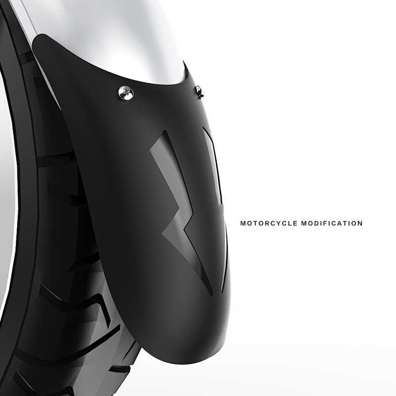 Evrensel motosiklet uzatmak ön çamurluk arka andFront tekerlek uzatma çamurluk çamurluk Splash Guard motosiklet için yeni CZ