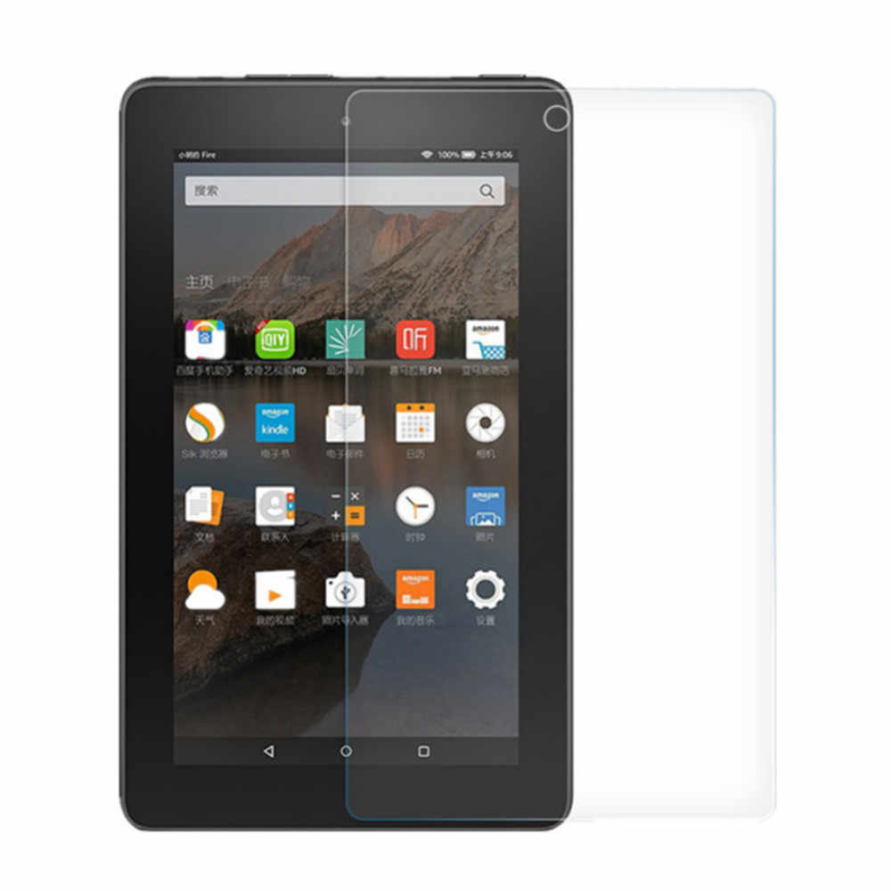 25 # Ultra delgado 9H Protector de pantalla de vidrio templado para Kindle Fire HD 10 2019/2017 10 pulgadas nuevo Protector de película protectora ablet