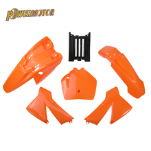 цены Plastic Body Fender Kit Body Cover Kit For KTM SX 50CC 50 50SX KTM50 Mini Adventure Junior Adventur 2003-2008 Dirt Bike Pit Bike